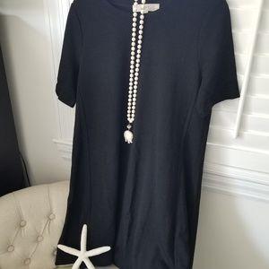 NWT LOFT Little Black Dress Petite Medium